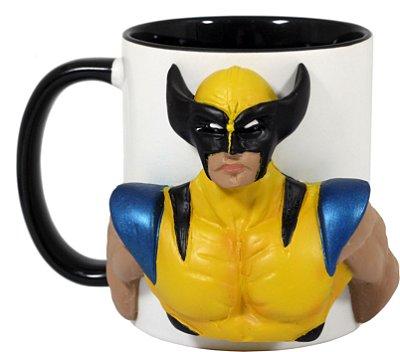 Caneca Personalizada 3D Wolverine