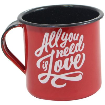 Caneca Retrô All You Need Is Love