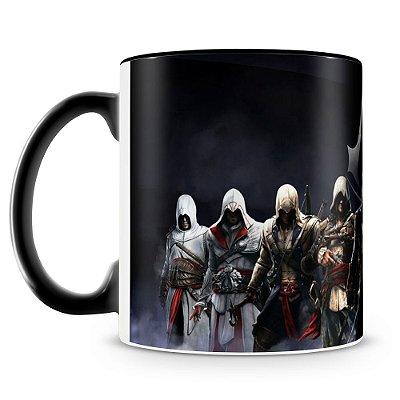 Caneca Personalizada Porcelana Assassin's Creed Sindicato (Preta)