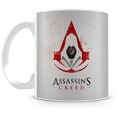Caneca Personalizada Porcelana Assassin's Creed White
