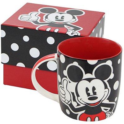 Caneca Personalizada Porcelana Mickey Poá