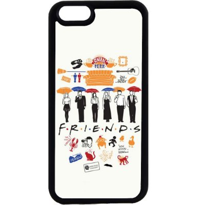 Capinha para Celular iPhone 6 Friends Guarda-chuvas