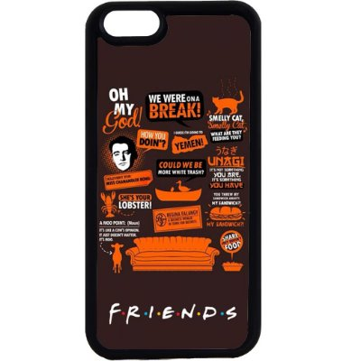 Capinha para Celular iPhone 6 Friends Oh My God