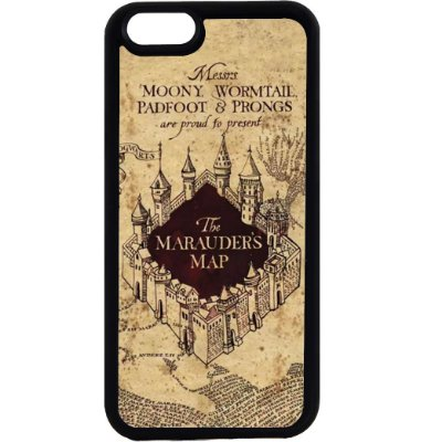 Capinha para Celular iPhone 6 O Mapa do Maroto Harry Potter