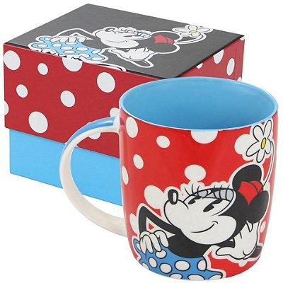 Caneca Personalizada Porcelana Minnie Poá