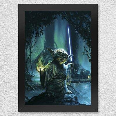 Poster Yoda Star Wars
