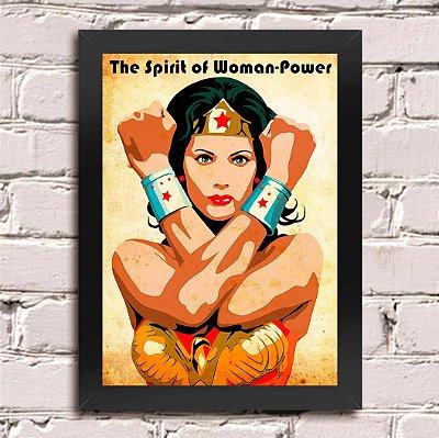Poster Mulher Maravilha