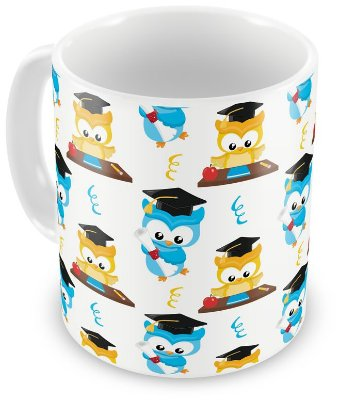 Caneca Personalizada Porcelana Corujinha (Mod.1)