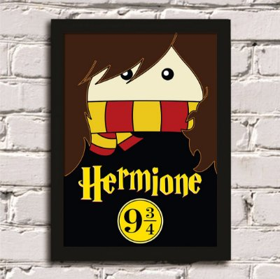 Quadro Poster Harry Potter Hermione