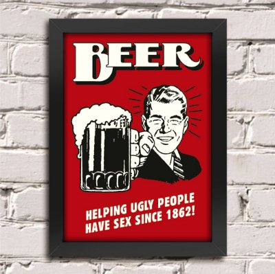 Poster Beer 1862