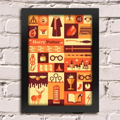 Poster Harry Potter Hogwarts