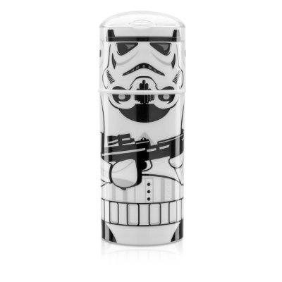 Garrafa Plástica Bico Retrátil Star Wars Stormtrooper