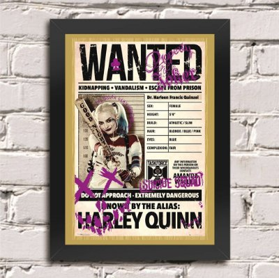 Poster Harley Quinn (Mod.1)
