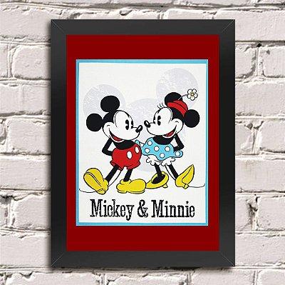 Poster Mickey e Minnie (Mod.2)