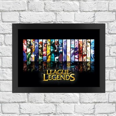Poster League of Legends (Mod.2)