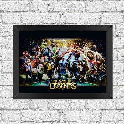 Poster League of Legends (Mod.10)