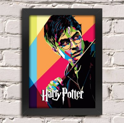 Poster Harry Potter Color