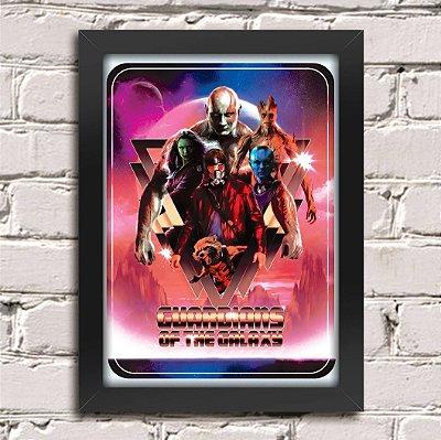 Poster Guardiões da Galáxia (Mod.2)