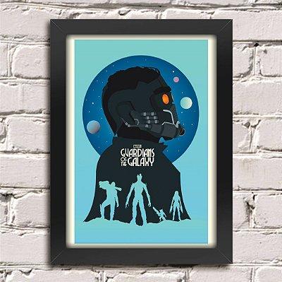 Poster Guardiões da Galáxia (Mod.4)