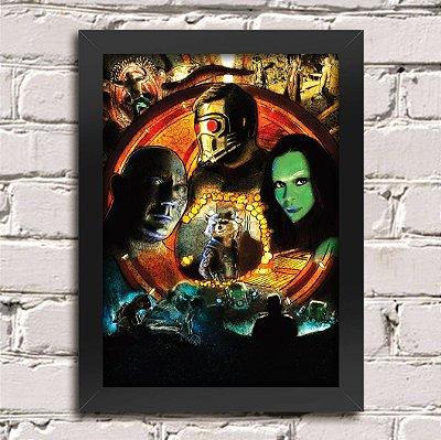 Poster Guardiões da Galáxia (Mod.12)