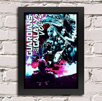 Poster Guardiões da Galáxia (Mod.10)