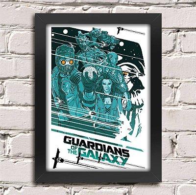 Poster Guardiões da Galáxia (Mod.15)