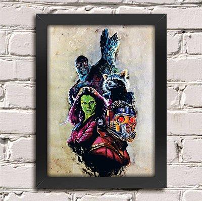 Poster Guardiões da Galáxia (Mod.18)