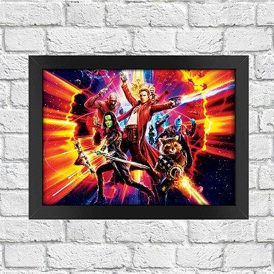 Poster Guardiões da Galáxia (Mod.28)