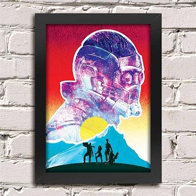Poster Guardiões da Galáxia (Mod.33)