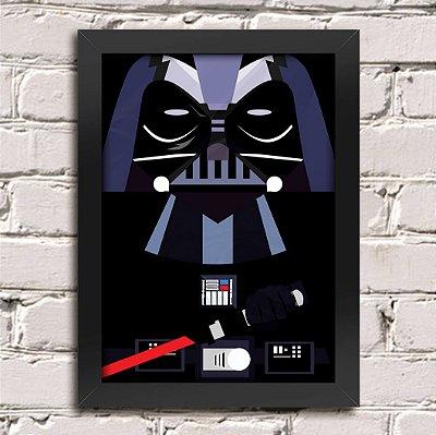 Poster Darth Vader Minimalista
