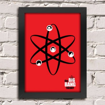 Poster The Big Bang Theory (Mod.3)
