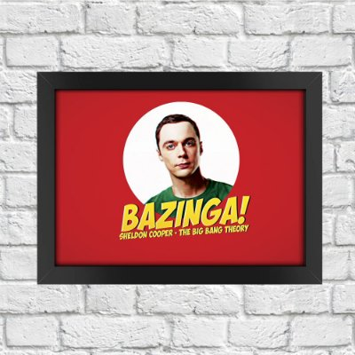 Poster The Big Bang Theory (Mod.4)