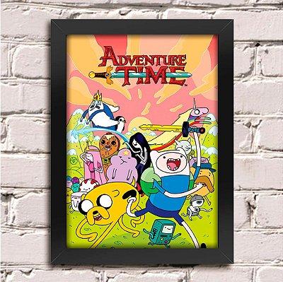Poster Hora de Aventura (Mod.1)