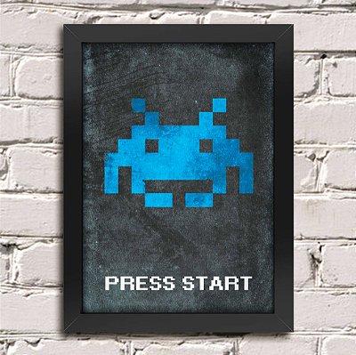 Poster Press Start