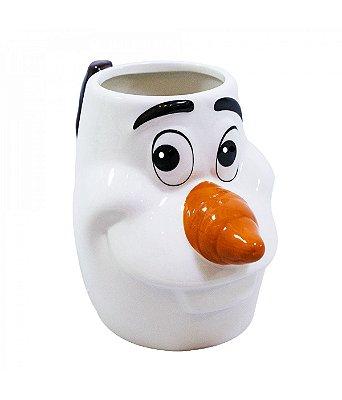 Caneca de Porcelana Olaf