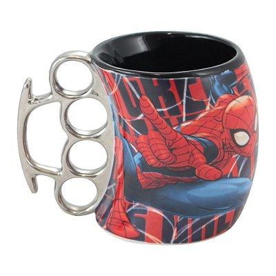 Caneca Soco Inglês Homem Aranha (Mod.2)