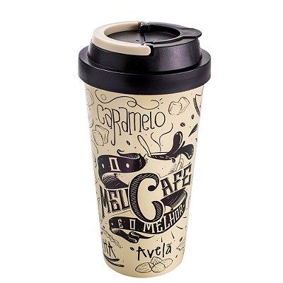 Copo Térmico Para Viagem O Meu Café é o Melhor