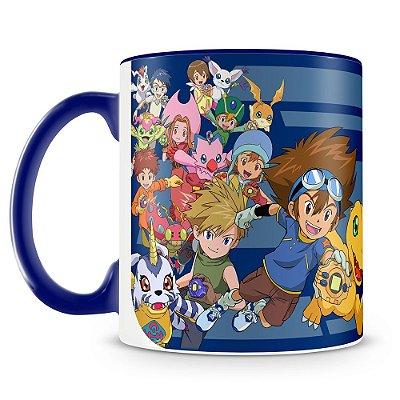 Caneca Personalizada Porcelana Digimon (Mod.1)