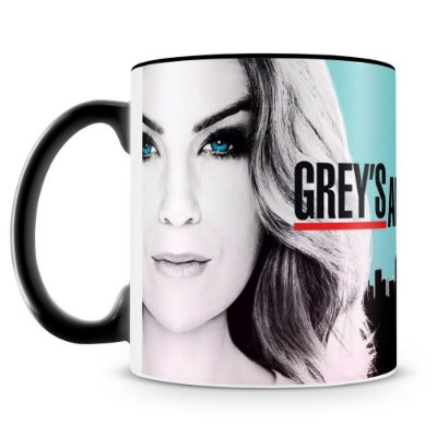 Caneca Personalizada Porcelana Grey's Anatomy (Mod.1)