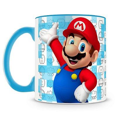 Caneca Personalizada Porcelana Super Mario (Mario)