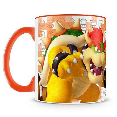 Caneca Personalizada Porcelana Super Mario (Bowser)