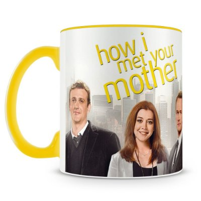 Caneca Personalizada Porcelana How i Met Your Mother - Mod.2