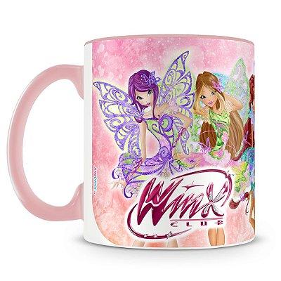 Caneca Personalizada Porcelana Clube das Winx
