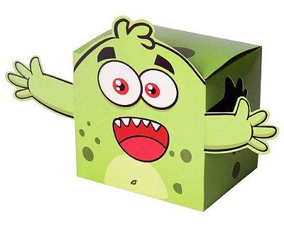 Caixinha de Presente para Caneca Uniquitos Verde