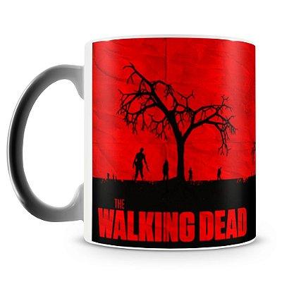 Caneca Mágica Termossensível Personalizada The Walking Dead