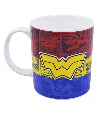 Caneca Personalizada Mulher Maravilha - Liga da Justiça