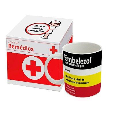 Caneca Personalizada Remédio Embelezol