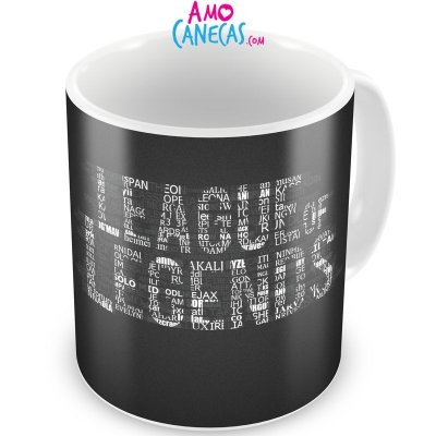Caneca Personalizada Porcelana League of Legends (Mod.2)