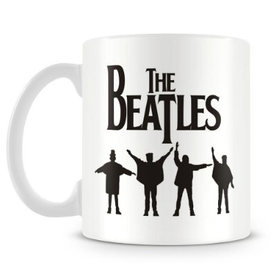 Caneca Personalizada Porcelana The Beatles (Mod.2)