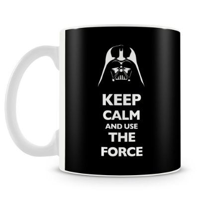 Caneca Personalizada Darth Vader Keep Calm and use The Force
